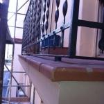 Balcón obra finalizada