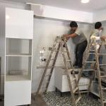 Trabajos de reforma de la cocina